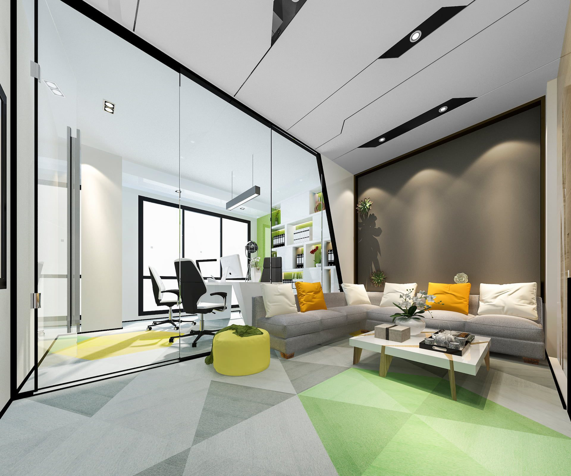 rendering of executive office