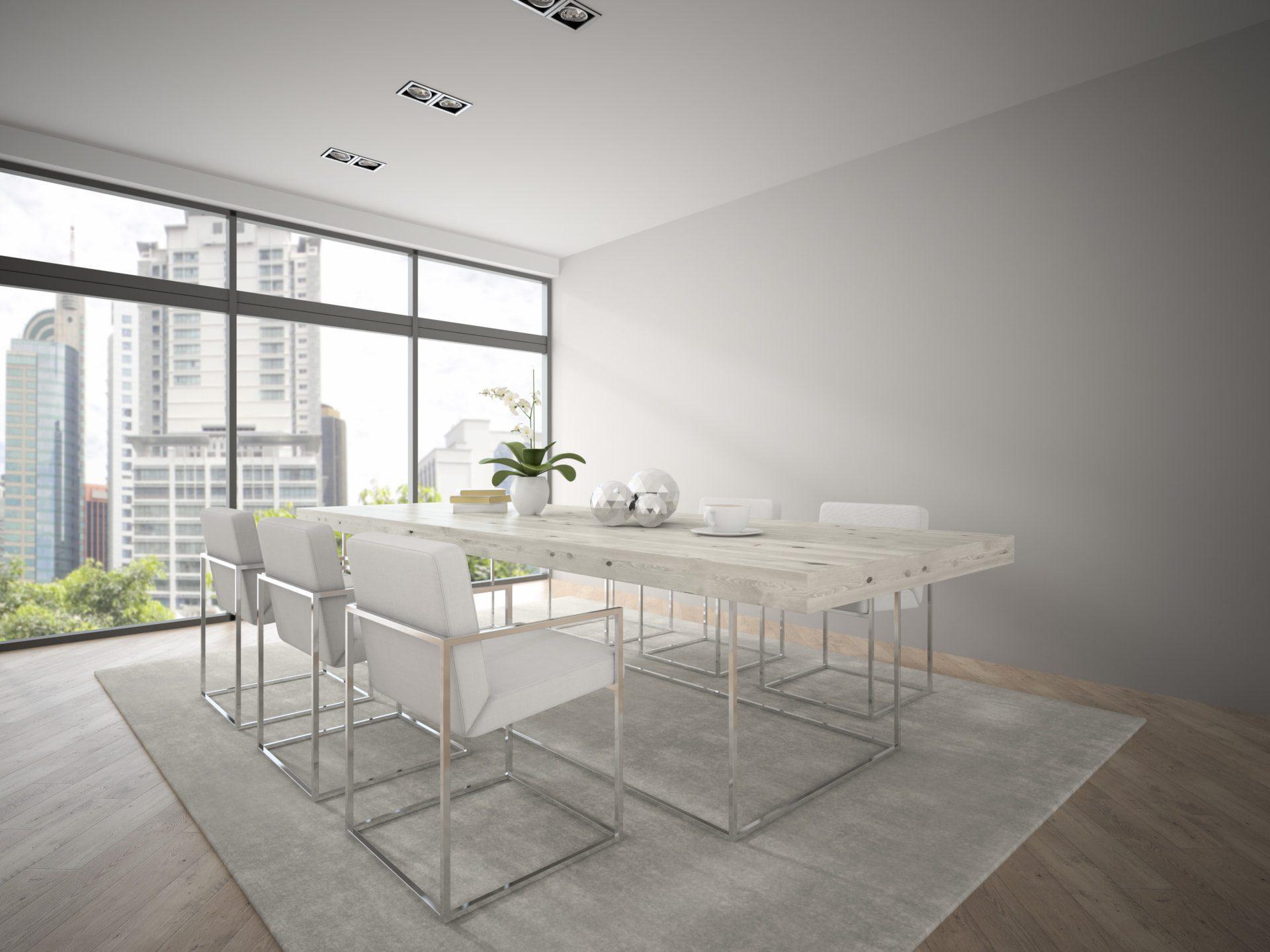 rendering of hotel meeting room